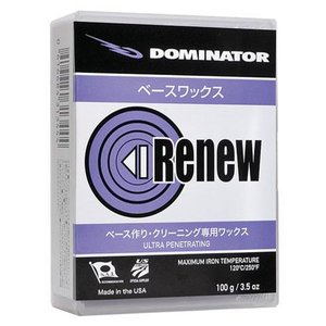 DOMINATOR(ドミネーター) RENEW SERIES BASE WAX RENEW PURPLE(リニューパープル)400g|kyoeisports2
