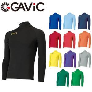ガビック ストレッチインナートップ 長袖 ハイネック インナーシャツ フィットインナー GA8301 サッカー フットサル メンズ 一般用|kyoeisports2