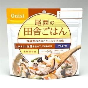 尾西食品 アルファ米 田舎ごはん1食分 賞味期限5年 非常食 防災|kyoeisports2