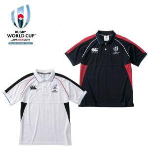カンタベリー RWC2019 ラグビーワールドカップ2019 メンズウィンガーポロシャツ VWD39112|kyoeisports2