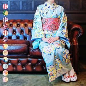 着物ブランドのCoucou Memoire(ククー メモワール) 、最新作の小紋袷着物単品販売になり...