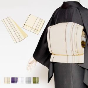(軽装帯 献上) 作り帯 お太鼓 日本製 5colors 着物 帯 ワンタッチ 簡単 名古屋帯 (ns42)