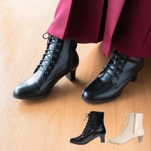 (卒業式 ショートブーツ) 袴 ショート ブーツ 編み上げ 8ホール レディース 袴用 女性 レースアップ 厚底 コスプレ 編み上げブーツ(yp)
