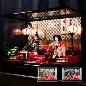 (雛人形 hn006) 雛人形 コンパクト おしゃれ ケース飾り ひな人形 可愛い ケース 親王飾り 小さい  ひなまつり ひな祭り 雛祭り 人形 飾り
