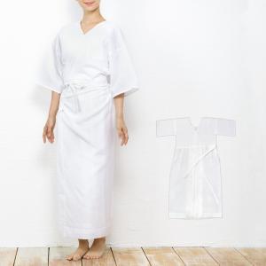 (通年スリップ 01) 肌襦袢 ワンピース 着物 浴衣 下着 肌着 花嫁 スリップ 着物用肌着 和装 下着 和装肌着 綿 M/L/F