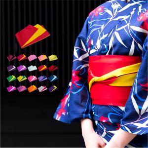 シンプルな無地の半幅帯です。しっとりとやわらかく、締めやすいです。 浴衣から卒業式などの袴姿に使う袴...