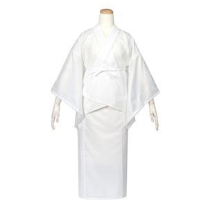 [商品説明]日本製の絽素材二部式長襦袢です。安心の日本製の二部式襦袢、確かな手触りと着心地で優しくお...