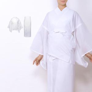(二部式襦袢 絽)洗える二部式長襦袢 夏 女性 半襦袢 裾除け 礼装 半襟付き 絽生地 レディース