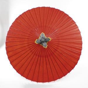和傘 蛇の目傘 無地 赤 /雨傘/番傘...
