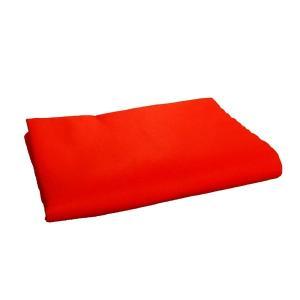 毛せん(メルトン) 赤 180×90cm...