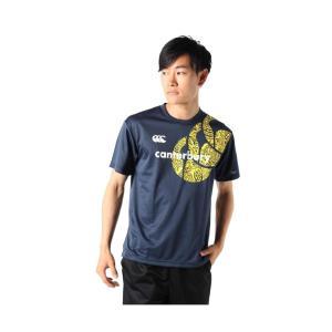 カンタベリー スポーツウェア 半袖 メンズ プリントフレックスマオリ柄機能Tシャツ RA39360 29 3L|kyokusenbi