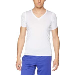 [シースリーフィット] Tシャツ クーリングVネックハーフスリーブ メンズ ホワイト 日本 S (日本サイズS相当)|kyokusenbi