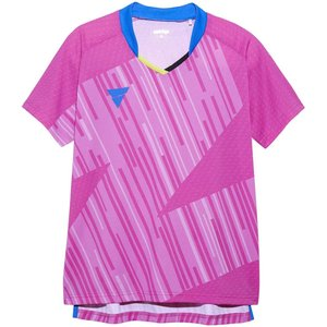 ヴィクタス(VICTAS) 卓球 レディース ゲームシャツ V-LGS901 公式試合着用可 ピンク...