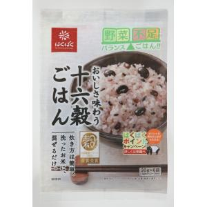 はくばく 十六穀ごはん 180g(30g×6袋)×6袋|kyokushoku