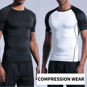 コンプレッションウェア メンズ コンプレッションインナー 半袖 Tシャツ トレーニングウェア ラグラ...