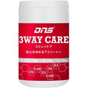 DNS スリーウェイ ケア 3WAY CARE 関節痛 膝 痛み EPA GLA DHA ファイブロキシン サプリメント 1400mg×60粒|kyomo-store