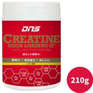 DNS クレアチン メガローディング α+ アルファプラス 210g レモン風味|kyomo-store
