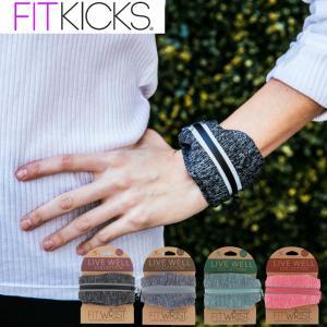 リストウォレット フィットキックス FITKICKS リストバンド ポケット付き 小銭入れ マラソン ランニング ウォーキング キーケース|kyomo-store