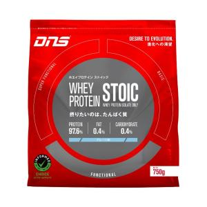 DNS ストイック ホエイプロテイン プレーン味 750g|kyomo-store