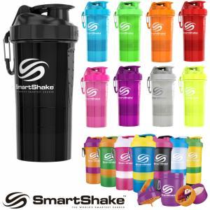 プロテイン シェイカー スマートシェイク オリジナル SmartShake ORIGINAL 600ml おしゃれボトル カラフル 部品組み合わせ|kyomo-store