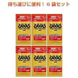 ザバス プロテイン SAVAS ホエイプロテイン100 ココア味 トライアルタイプ 10.5gx6袋 明治 kyomo-store