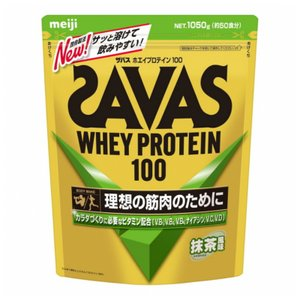 ザバス ホエイプロテイン100 抹茶風味 50食分 1,050g 1kg