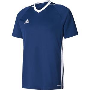 adidas(アディダス) TIRO17 ユニフォーム メンズ サッカー・フットサルウェア BUJ02 ダークブルー/WHT|kyonen-ya