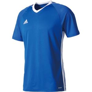 adidas(アディダス) TIRO17 ユニフォーム メンズ サッカー・フットサルウェア BUJ02 ボールドブルー/W|kyonen-ya