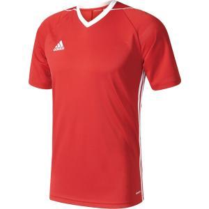 adidas(アディダス) TIRO17 ユニフォーム メンズ サッカー・フットサルウェア BUJ02 パワーレッド/WHT|kyonen-ya