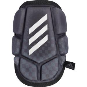 adidas(アディダス) アームガード 一般軟式野球用 肘あて GLJ33 BLK/SLVメタリック|kyonen-ya