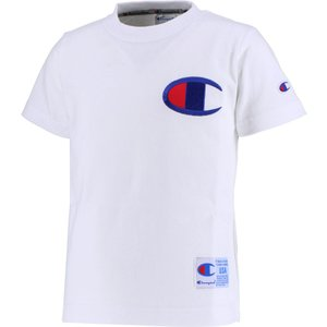 Champion(チャンピオン) チャンピオン キッズ ビッグCTシャツ CS4980 オフホワイト|kyonen-ya