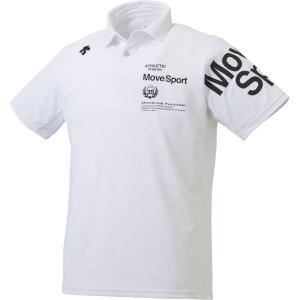 デサント(DESCENTE) サンスクリーン ポロシャツ メンズ DMMNJA71 WH
