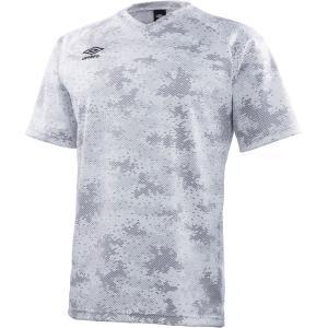 アンブロ UMBRO UK CAMO プラクティスS/S Tシャツ メンズ UBS7747 ホワイト