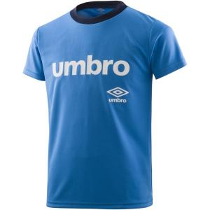 UMBRO(アンブロ) ワードロゴ S/Sシャツ ジュニア プラクティスシャツ プラシャツ UMJNJA60 IBBU kyonen-ya