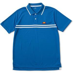 Ellesse(エレッセ) 【メンズ テニス・バドミントンウェア】 ポロシャツ メンズ ETS06300 Hブルー kyonen-ya