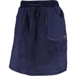 ロゴス(LOGOS) モコモコソフトスカート レディース 84860422 ネイビー|kyonen-ya