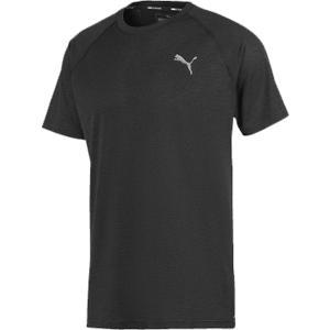 PUMA(プーマ) プーマヘザーSS Tシャツ メンズ 519249 PUMA_BK_HE|kyonen-ya