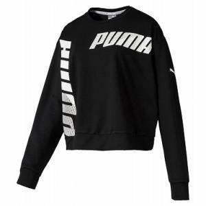 PUMA(プーマ) MODERN SPORTS クルースウェット レディース 581027 PUMA_BLACK|kyonen-ya