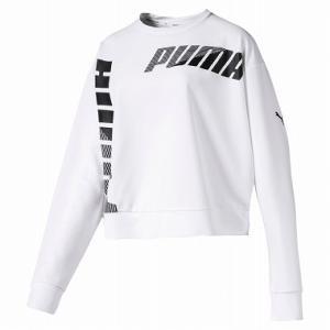PUMA(プーマ) MODERN SPORTS クルースウェット レディース 581027 PUMA_WHITE|kyonen-ya