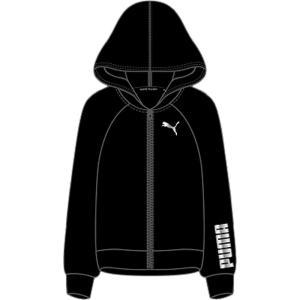 PUMA(プーマ) RTG フーデッド スウェットジャケット レディース 582835 PUMA_BLACK|kyonen-ya