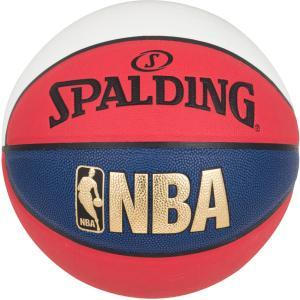 スポルディング SPALDING NBAトリコロール バスケットボール7号球 ブルー×レッド×ホワイ...