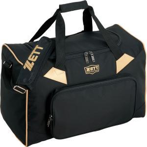 ZETT(ゼット) 野球・ソフトボール用 ナイロンミドルバッグ BA678 ブラック|kyonen-ya