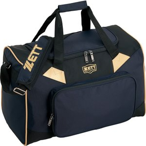 ZETT(ゼット) 野球・ソフトボール用 ナイロンミドルバッグ BA678 ネイビー|kyonen-ya