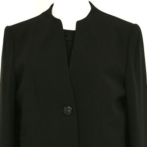 喪服 /礼服 /ブラックフォーマル /アンサンブル  前開き  067A (5号)|kyonenya