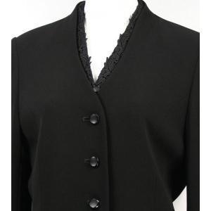 ブラックフォーマル 喪服 礼服 4点セット351 (7号)|kyonenya