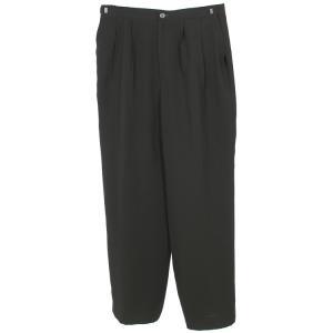 単品 ブラックフォーマル パンツ 黒  喪服 礼服   p20a (15号)|kyonenya