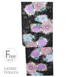 浴衣 レディース  4626 女性 浴衣 仕立上がり 浴衣 お値打ち ゆかた フリーサイズ|kyonenya