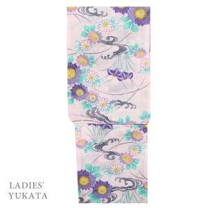 浴衣 レディース  4704 女性 浴衣 仕立上がり 浴衣 フリーサイズ ピンク|kyonenya