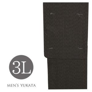 浴衣 メンズ 男物  ゆかた 3L 4972 男性 浴衣 大きいサイズ kyonenya
