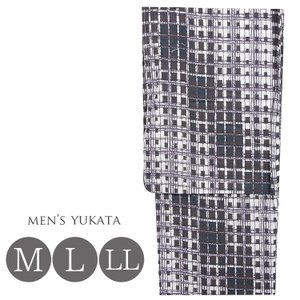 メンズ 浴衣 男物 ゆかた M・L・LL 4976 男性 浴衣 茶|kyonenya